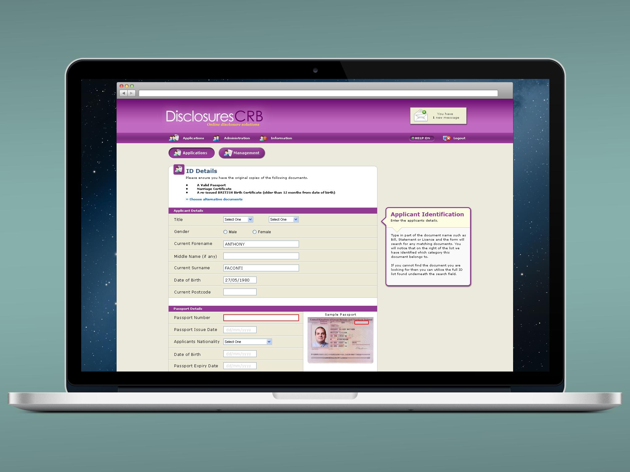 Web Applications for Enterprise