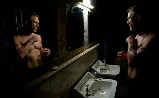 Daniel Craig is still ripped- image courtesy MGM/Columbia pictures