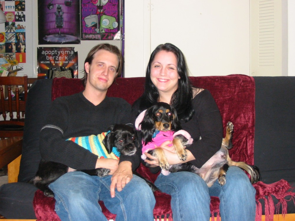 Our first family portrait
