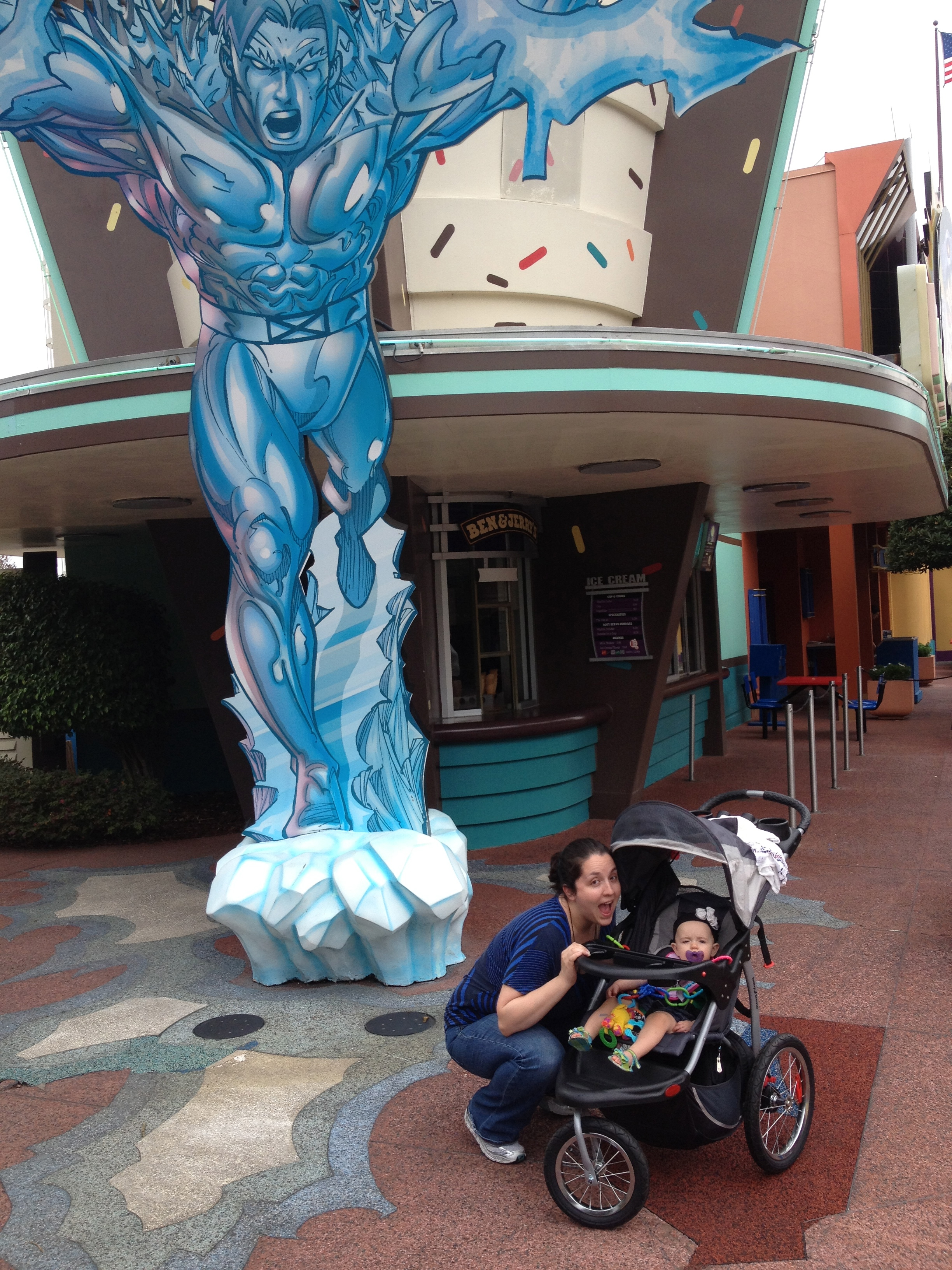 mommy & D at marvel island