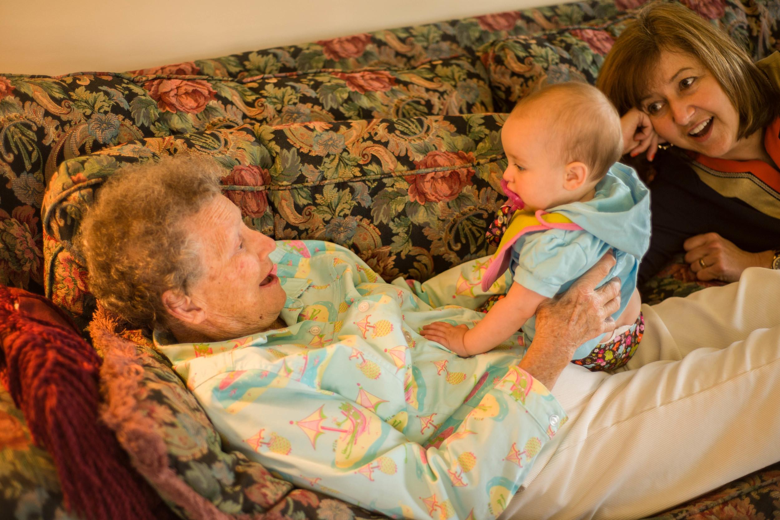 Great Grandma Johanna