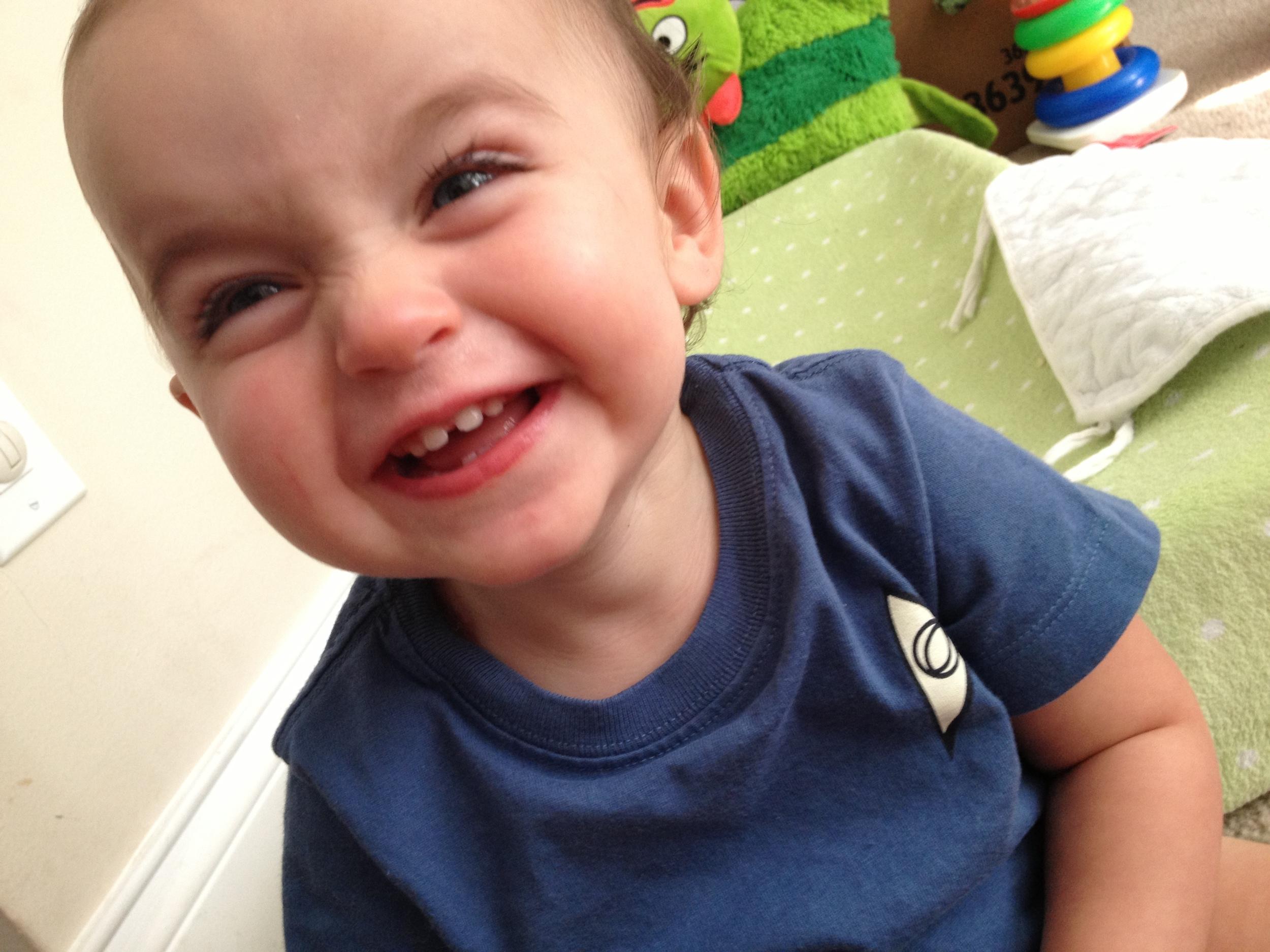 Mommy's little Blue Shirt