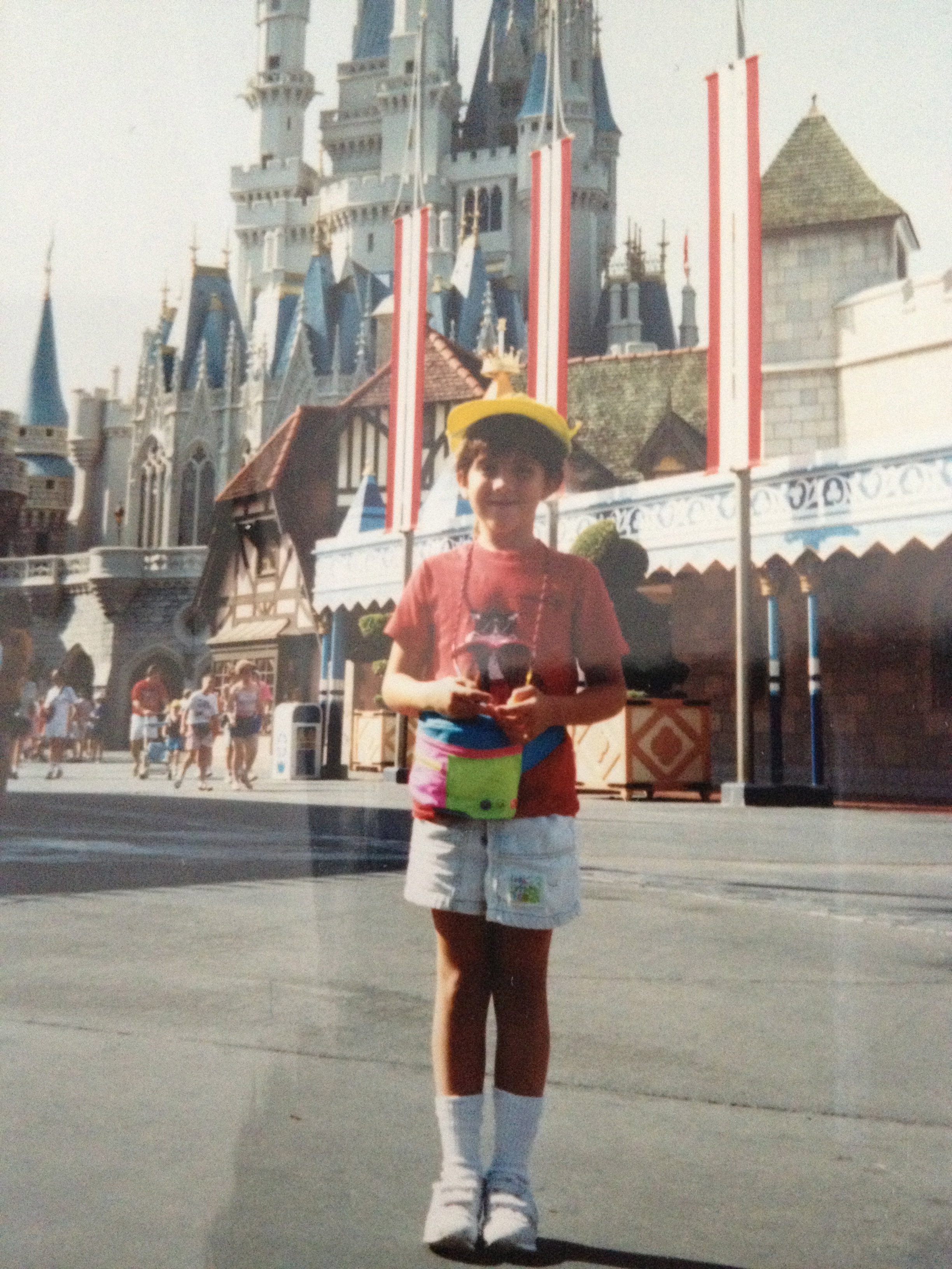 I know you're jealous of my fanny pack- circa 1990