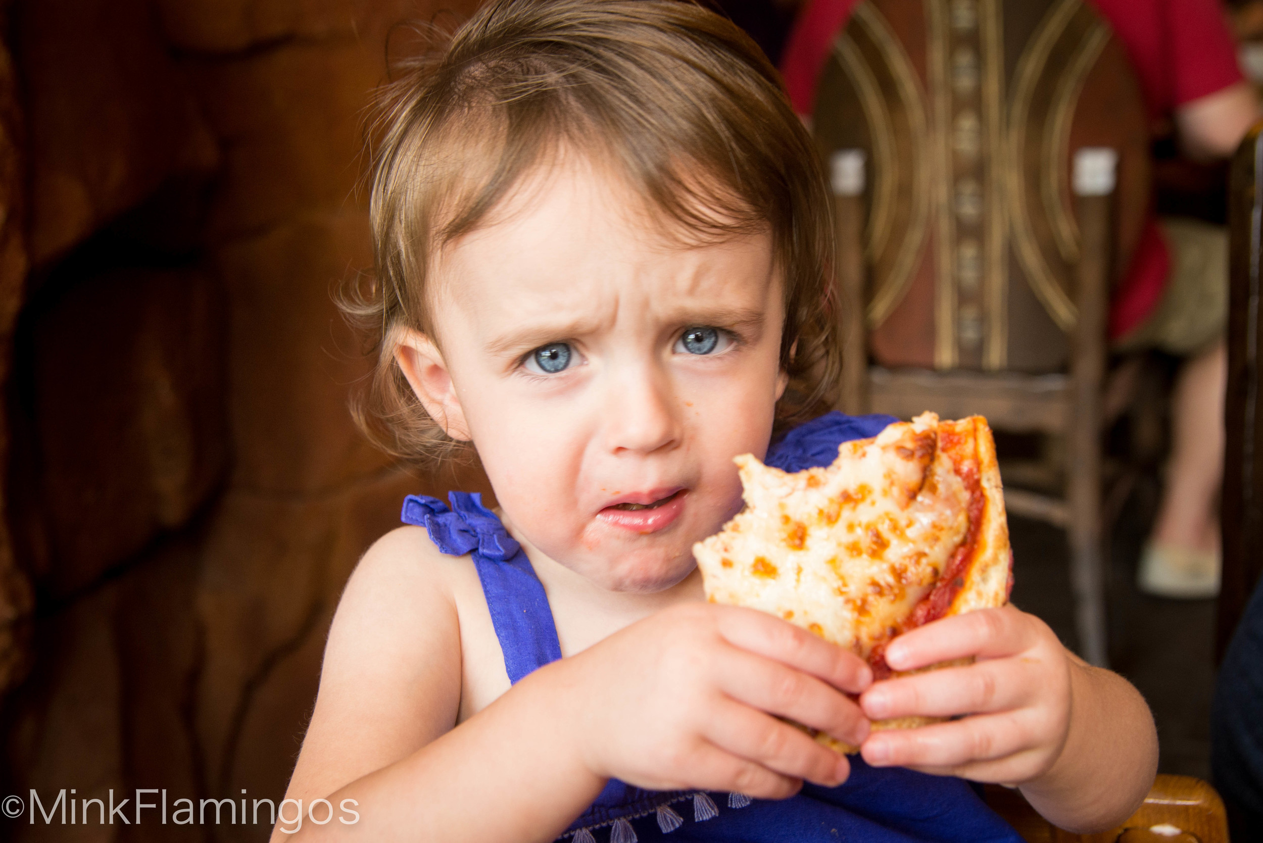 Share my pizza?!