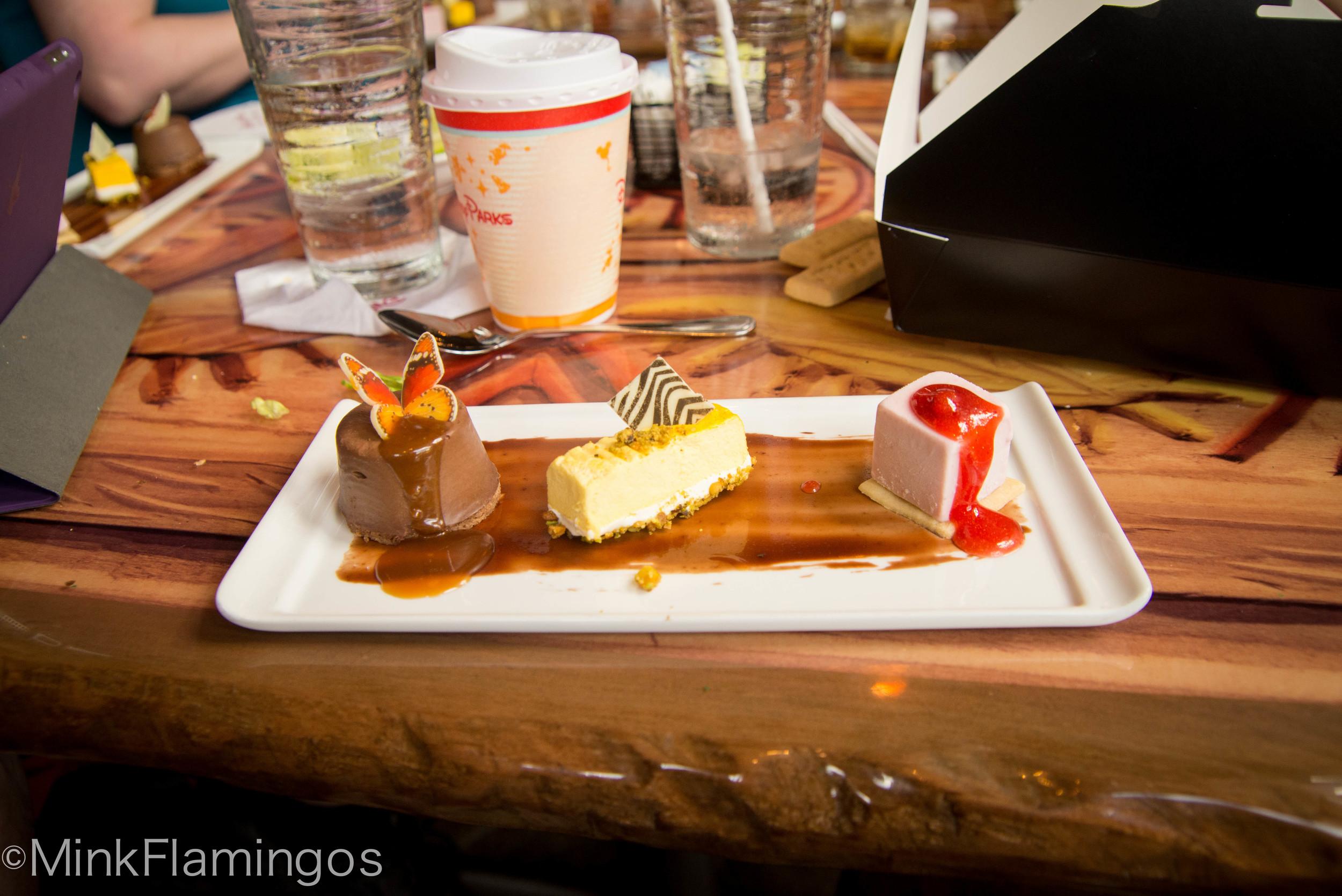 Sanaa's dessert plate