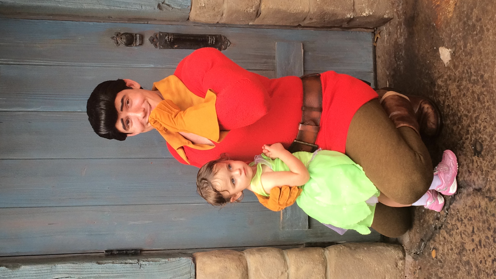 """""""Beauty like ours should be shared with the world, Princess!"""" - Gaston to Daphne"""