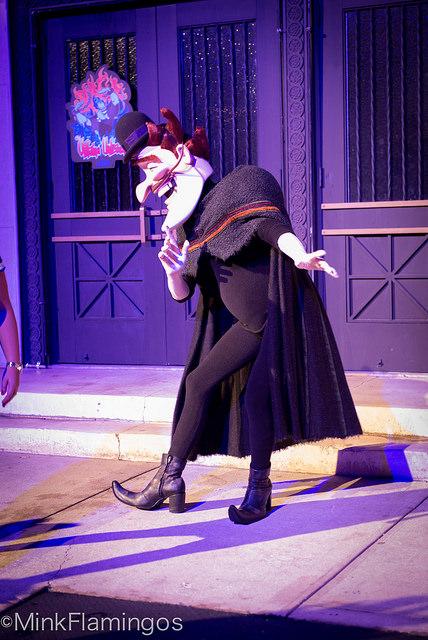 Bowler Hat Guy at Disney Villains Unleashed