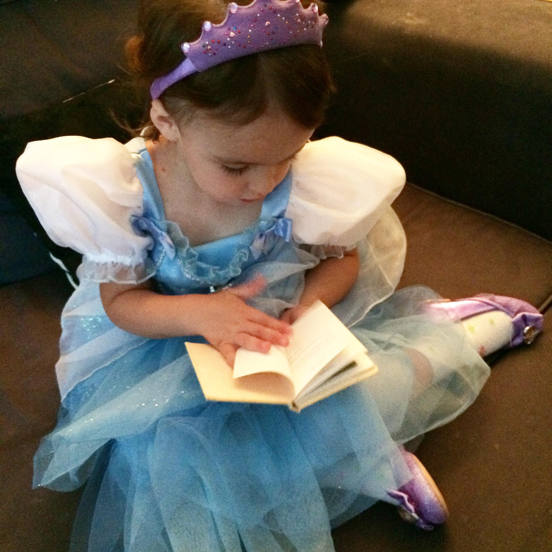 She's a well-read Princess