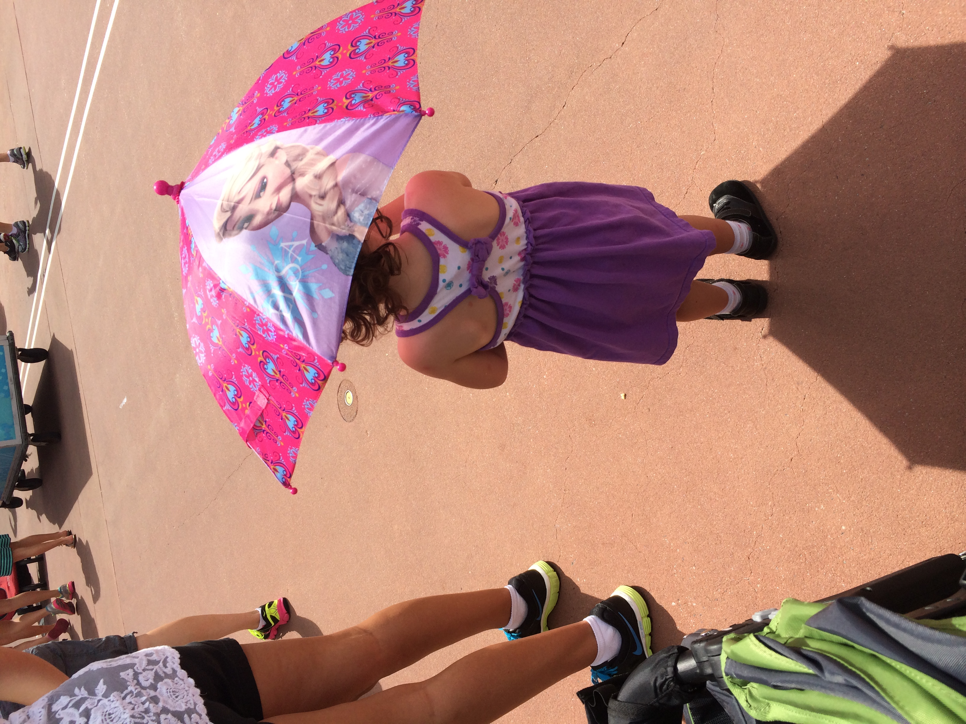 Beware the ramming Umbrella