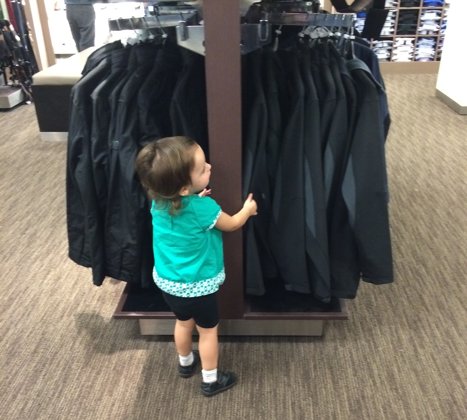 """helping"" daddy shop"