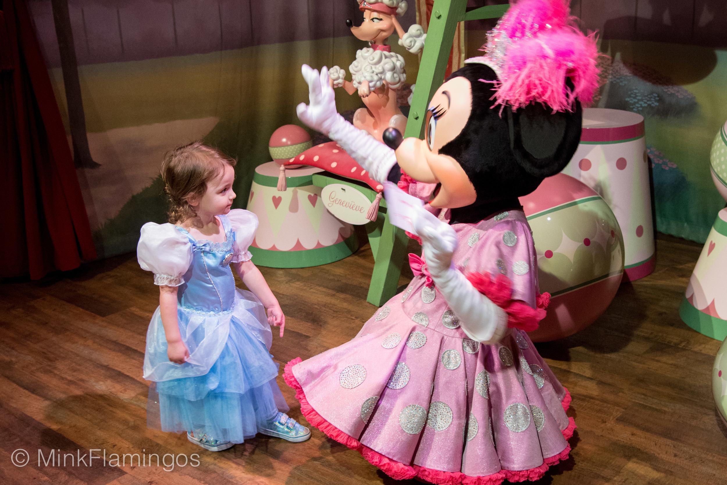 Minnie's Frozen!