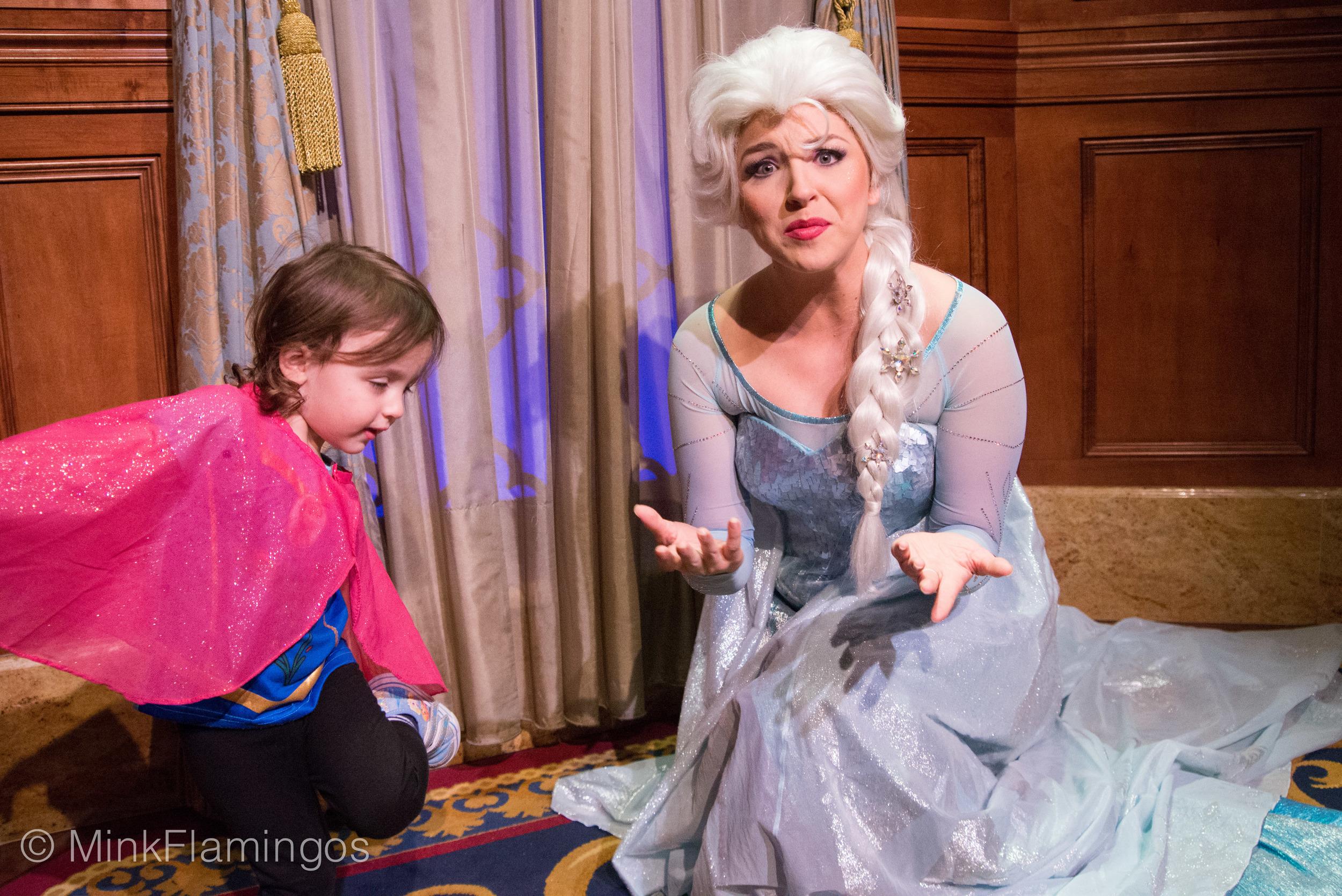 Elsa throws some reindeer sass