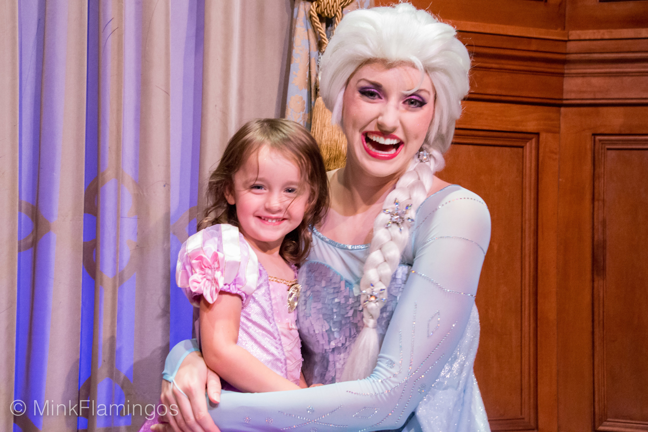 D and I love making the Ice Queen laugh