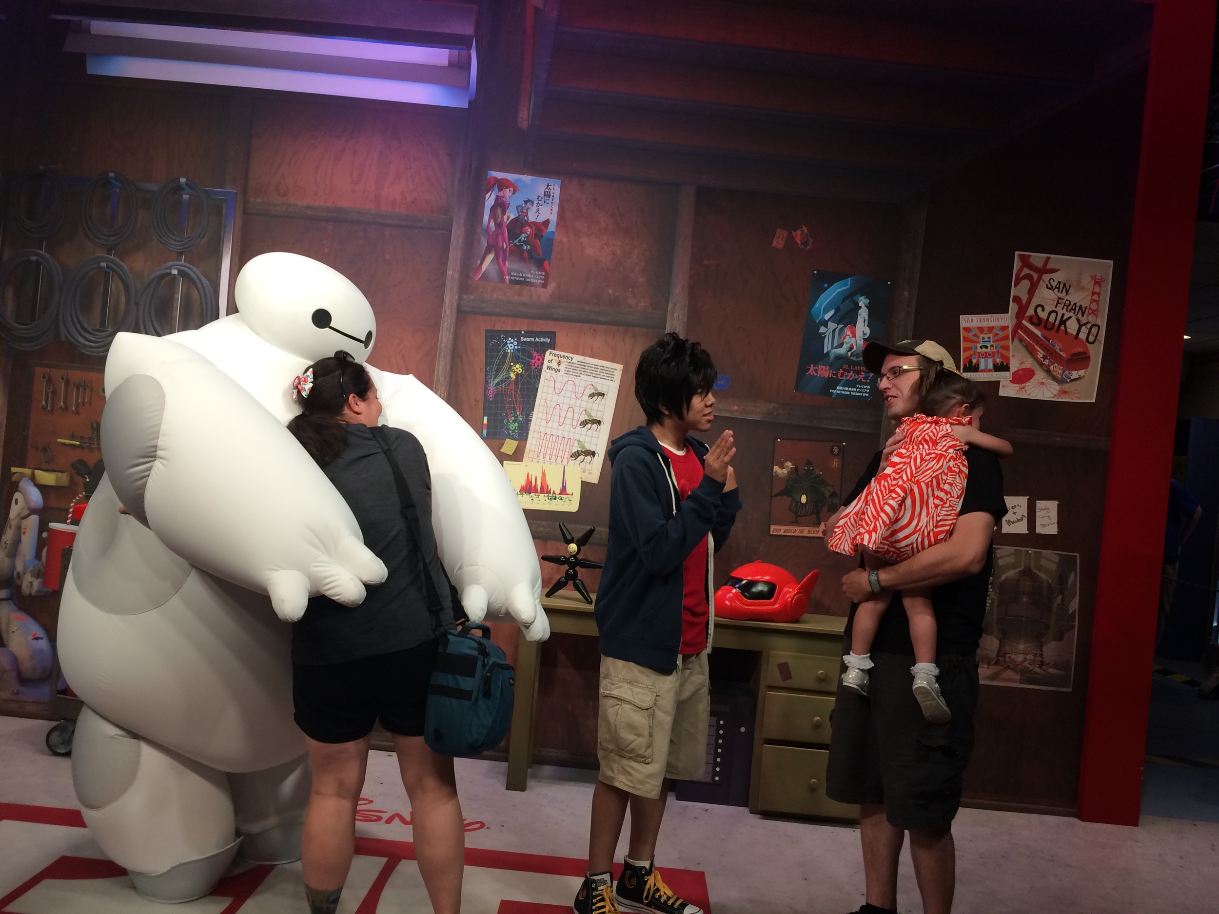 Baymax is amazing. And Hiro tried, bless him.