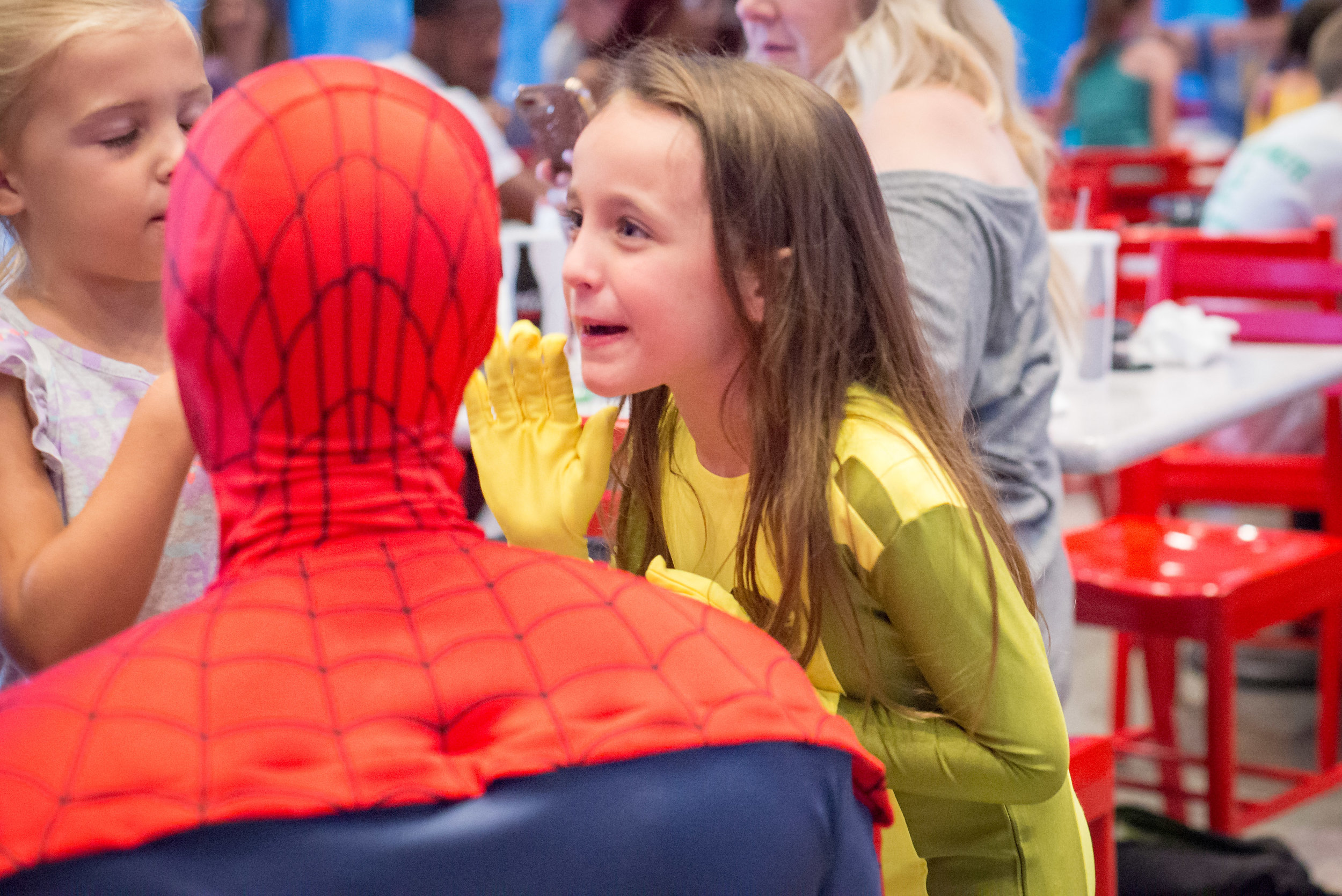 Telling Spidey secrets about who-knows-what