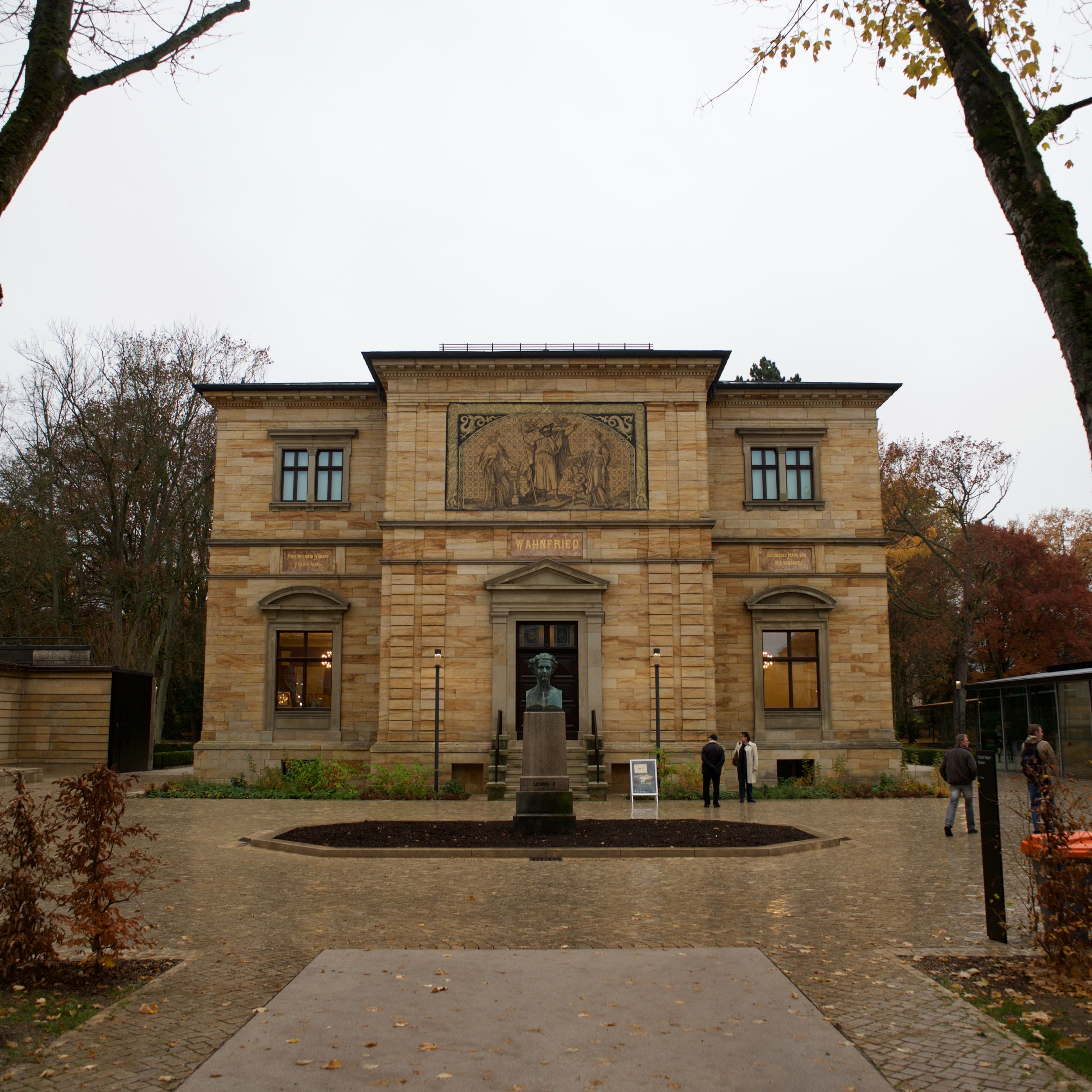 Wagner's house. Willa Wahnfried.
