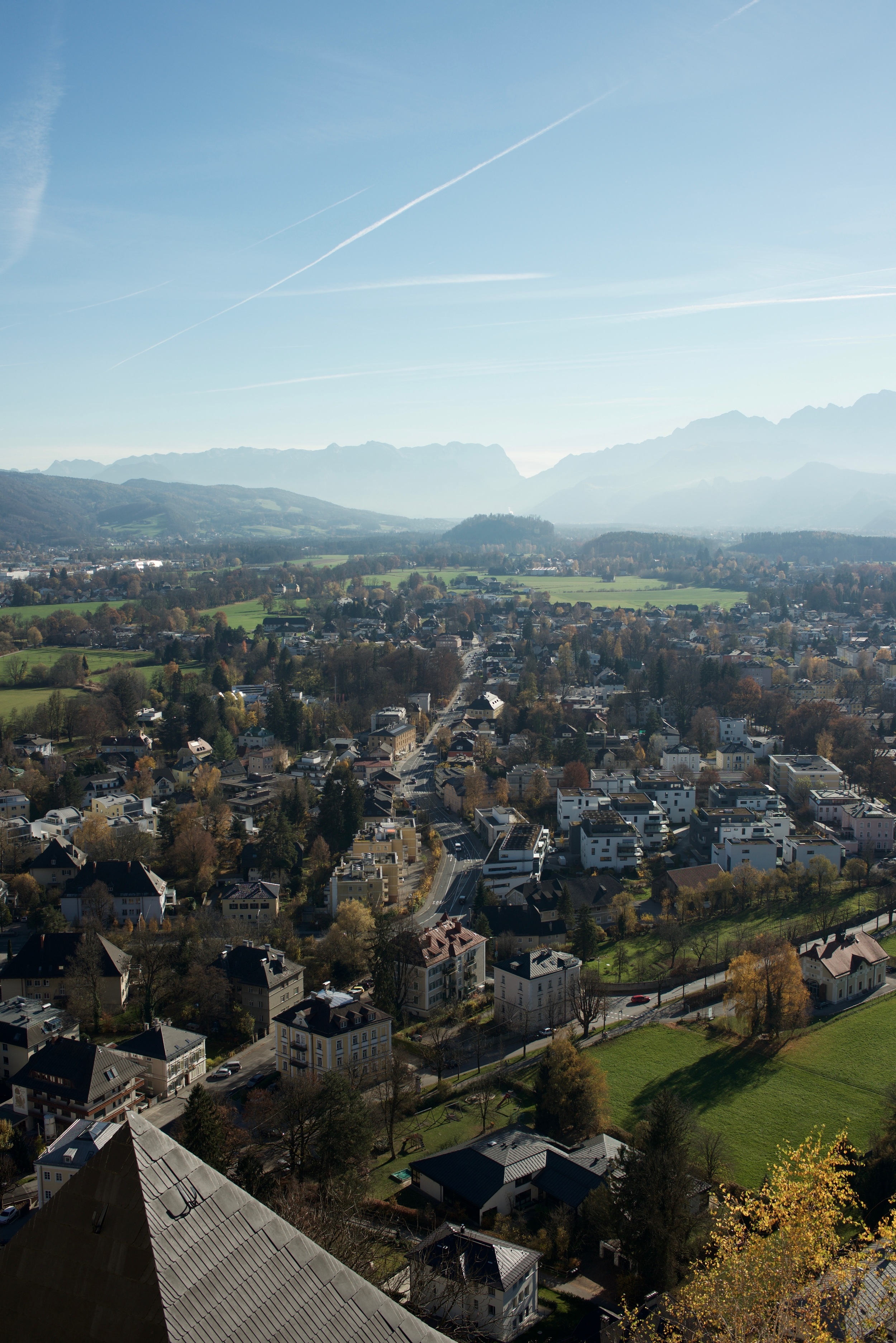 The view from Salzburg fortress.