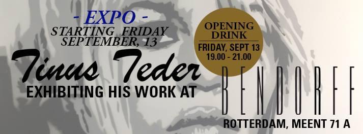 Tinus Teder expo Icons Rotterdam Bendorff