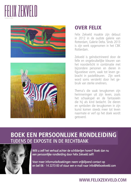 Felix Zekveld, expo Rechtbank Rotterdam