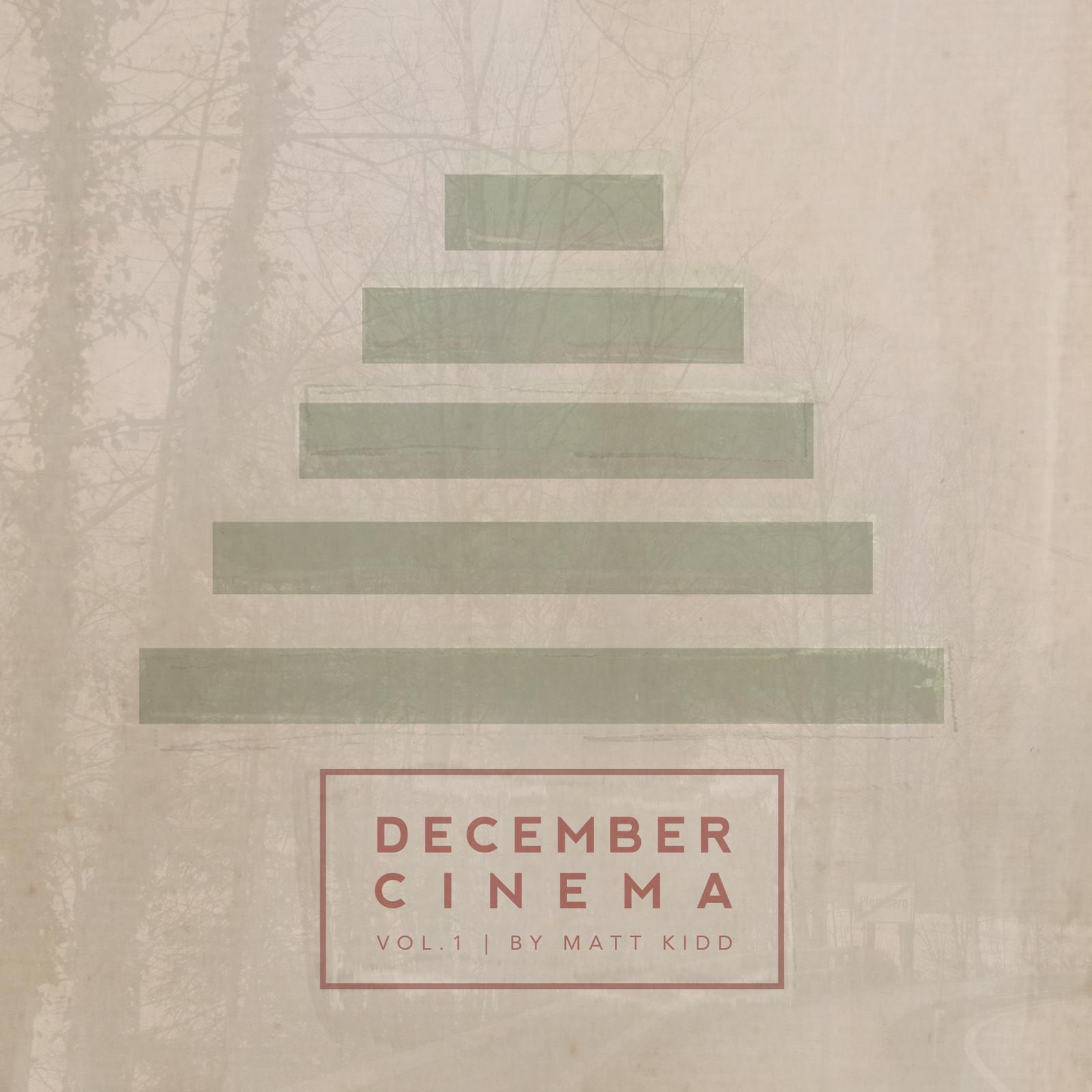 Recent album artwork I made for Matt Kidd's Christmas EP.