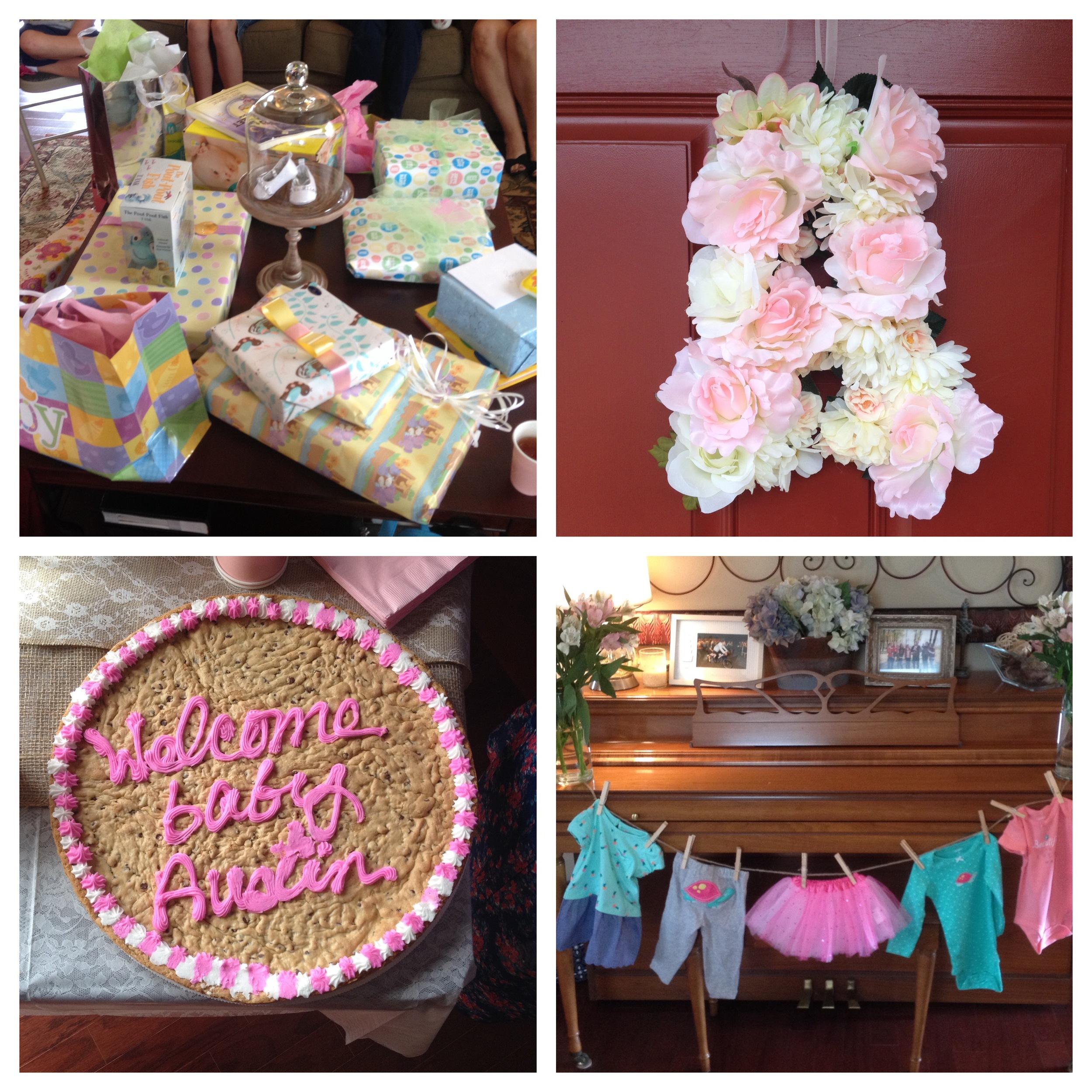 Austin's baby shower in Greenville!