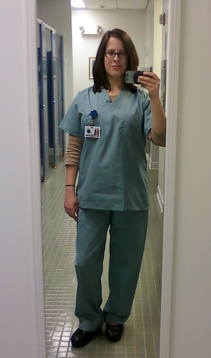 """Me as a background actor on the NBC pilot """"Do No Harm"""" filmed in Philadelphia in March 2012."""