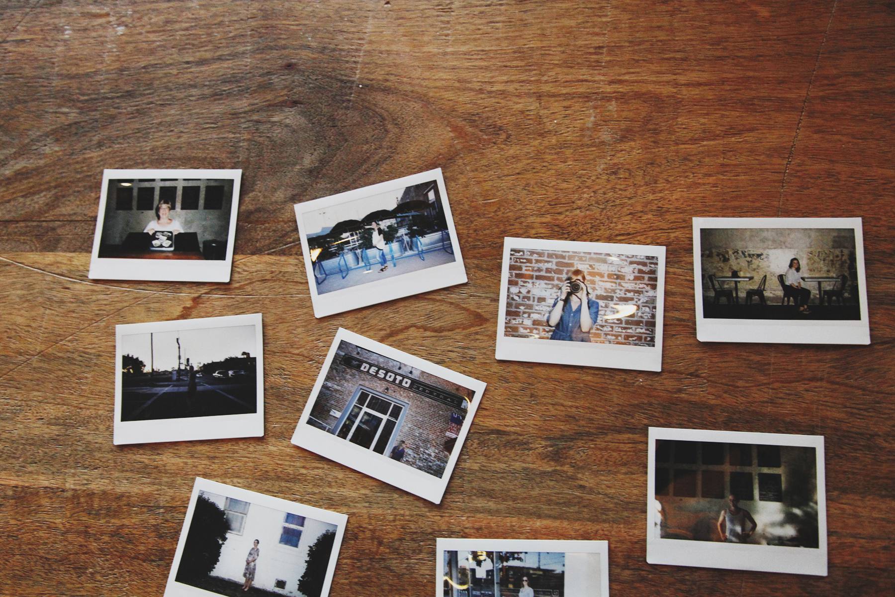 Polaroids of the attendees. I am blessed to partake in a small part of their archiving pursuits.