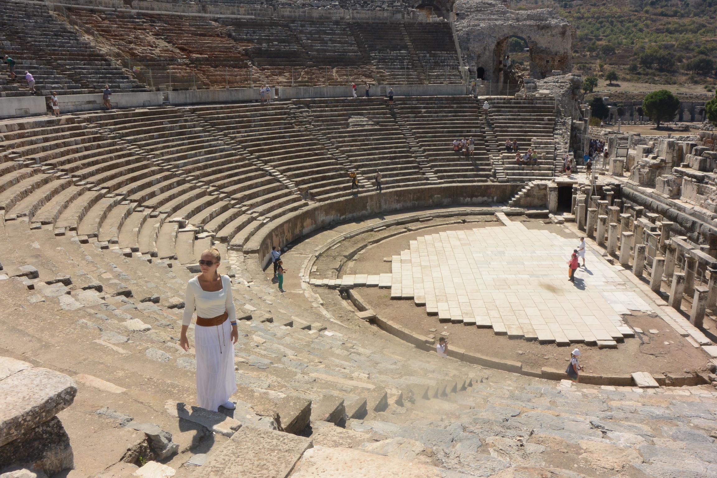 The Theatre at Ephesus