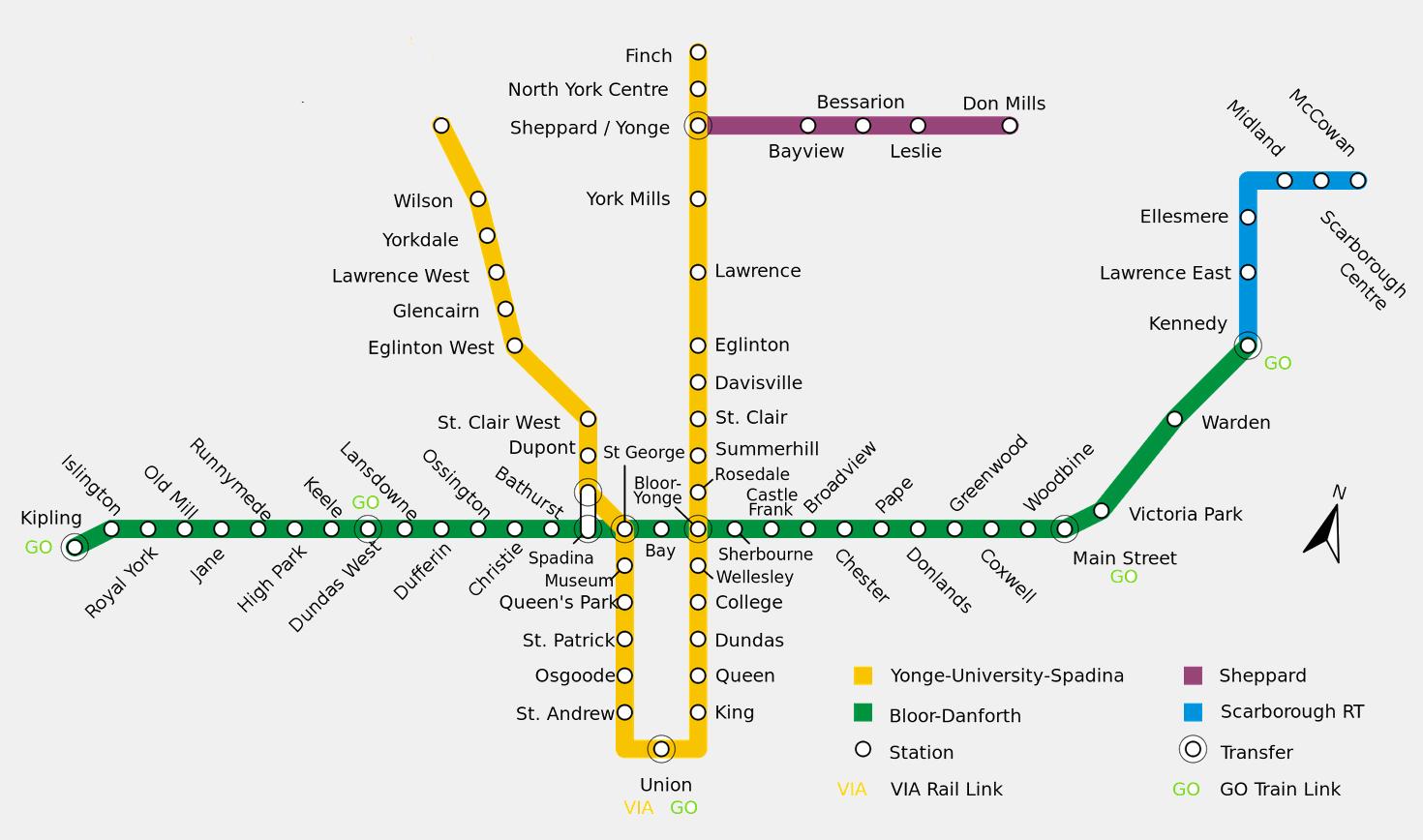 Toronto (subways! subways! subways!)