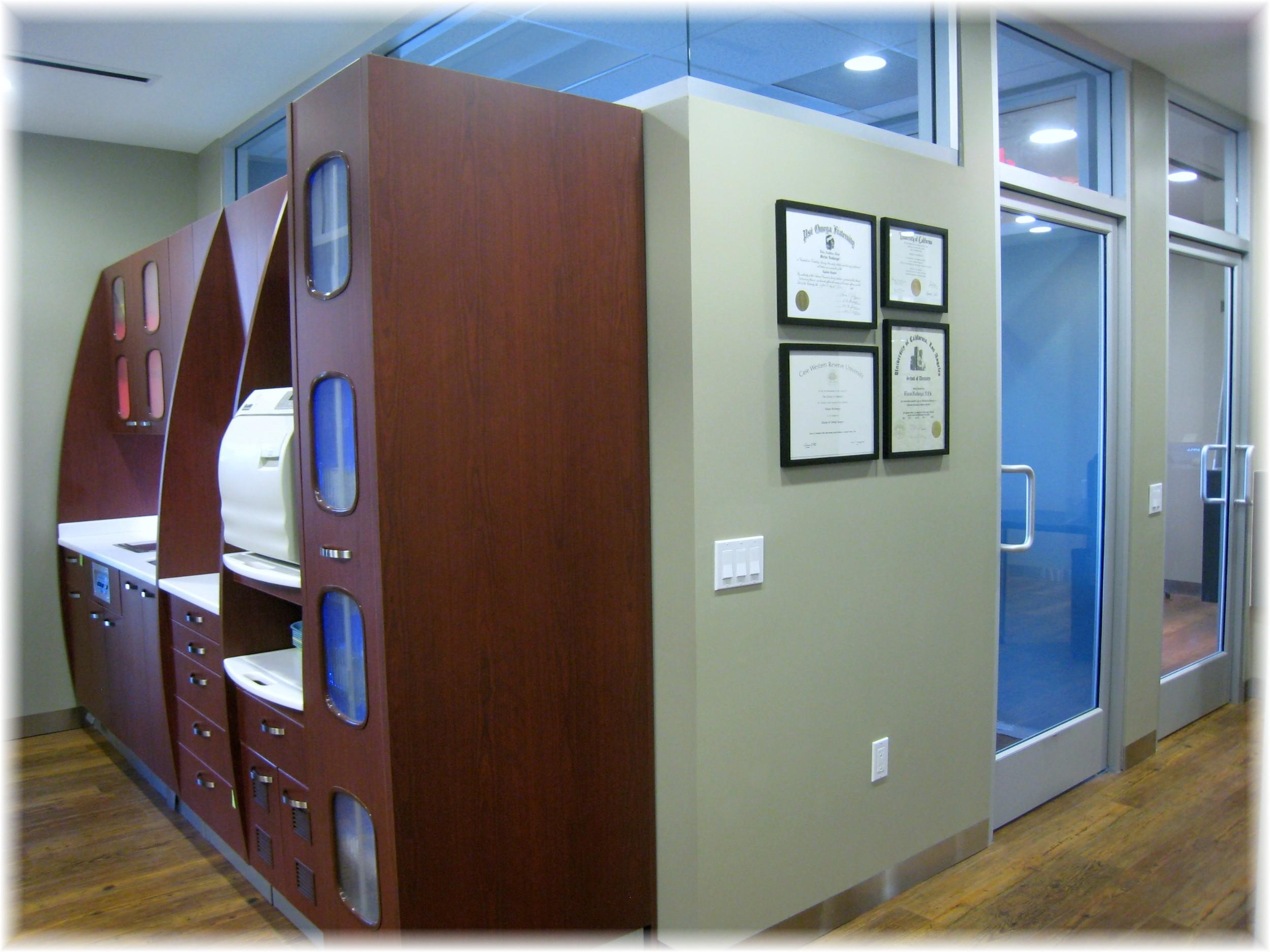 Treatment Room 4 and Sterilization Area