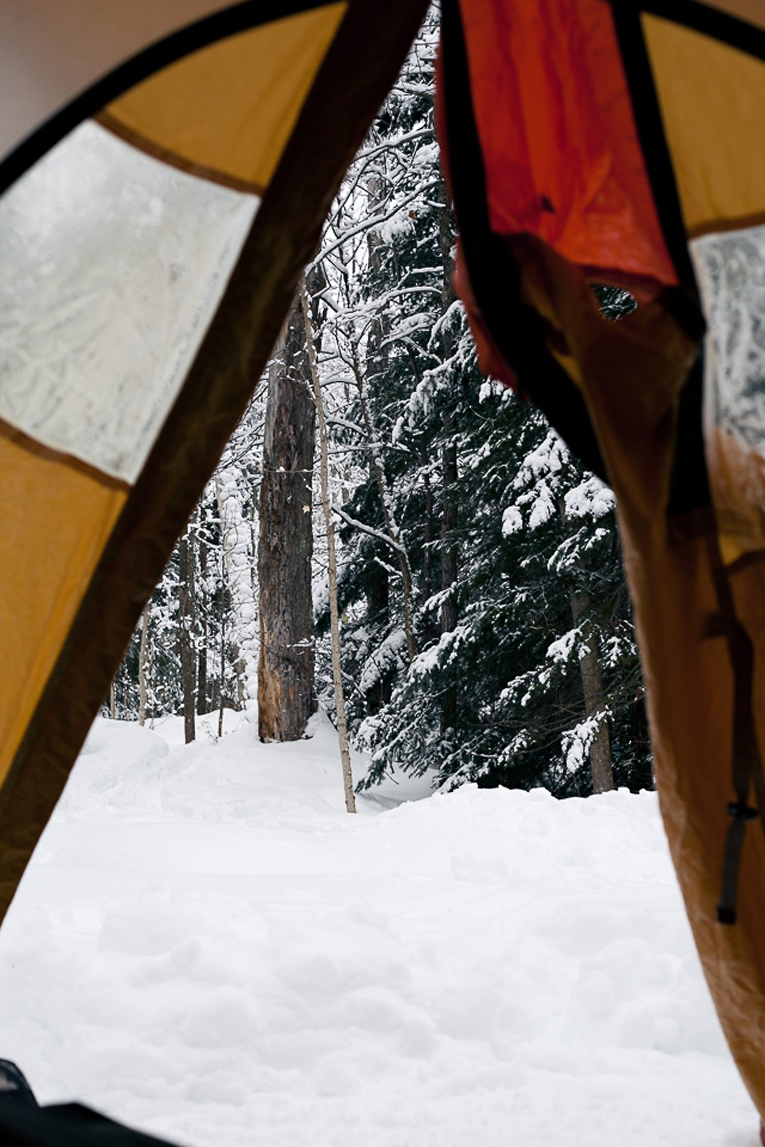 winter camping 2013