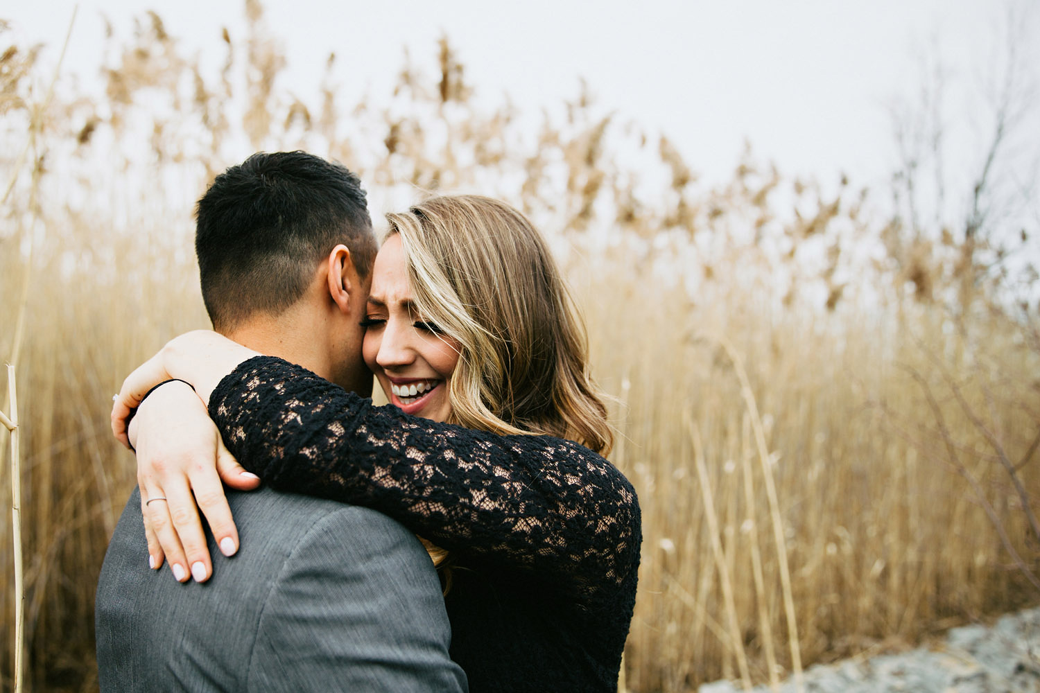 Scarborough Bluffs Engagement | Frances Beatty Photography