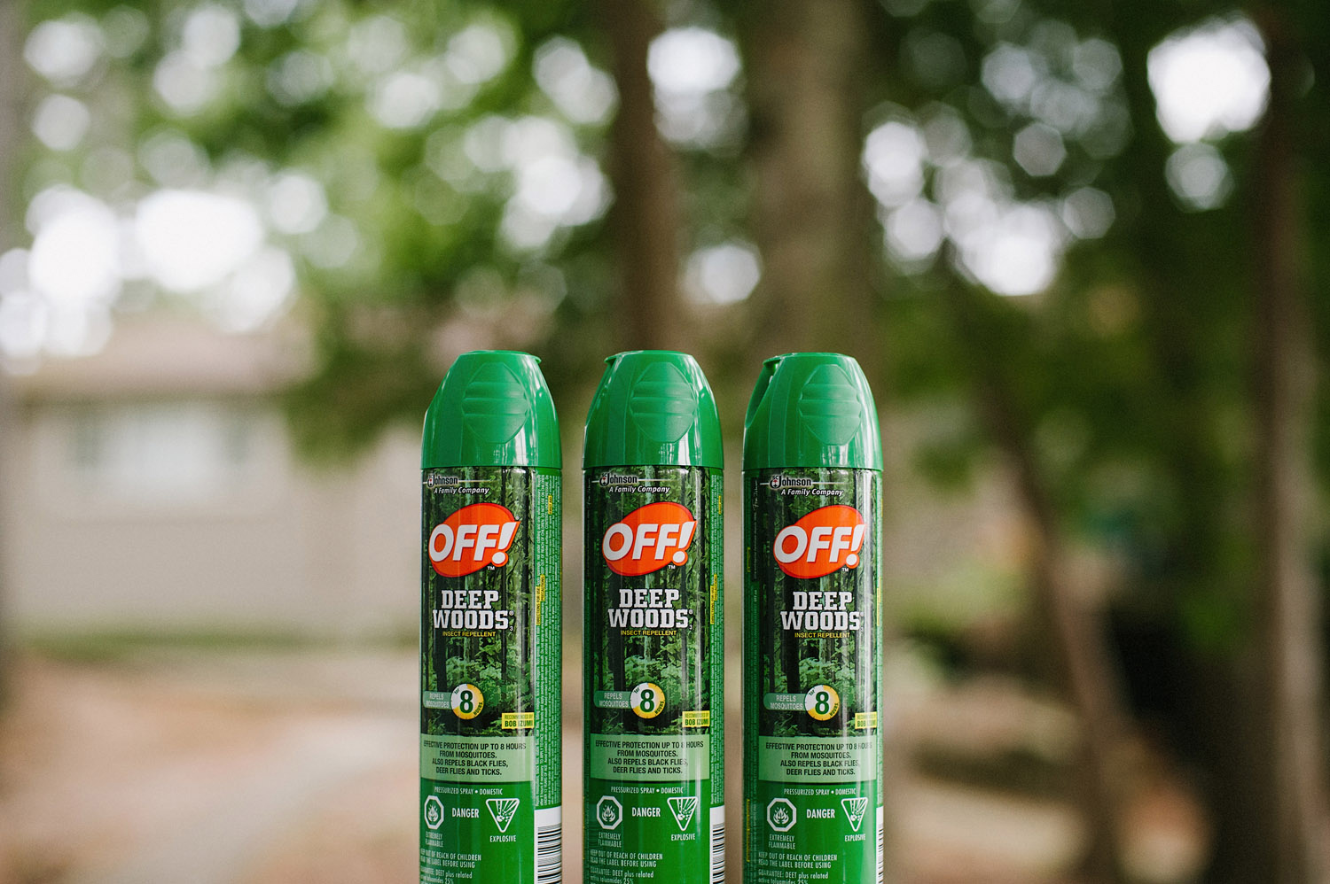 insect repellant is a necessity for Muskoka camp wedding