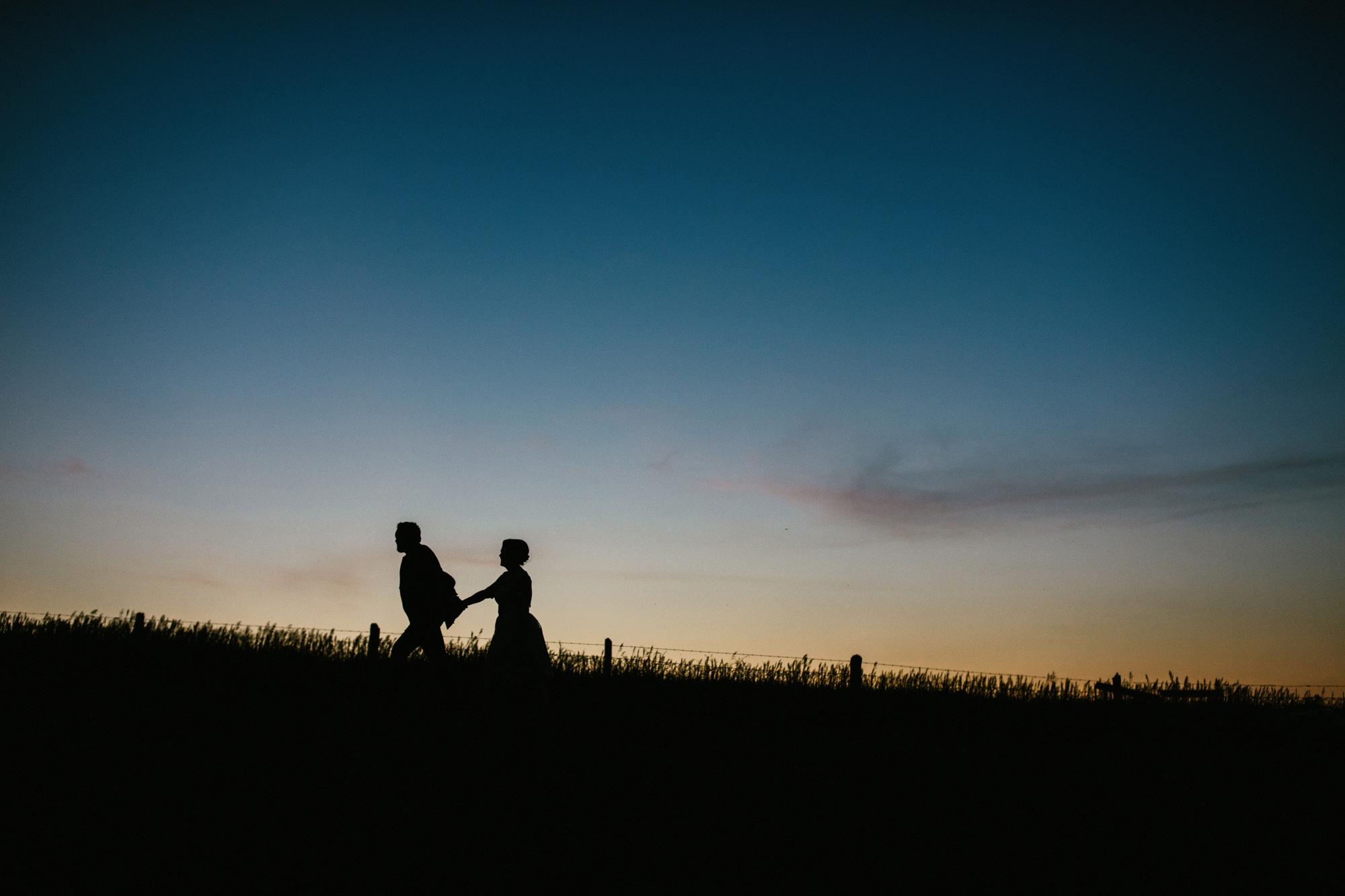 Elmhirst Wedding at Sunset