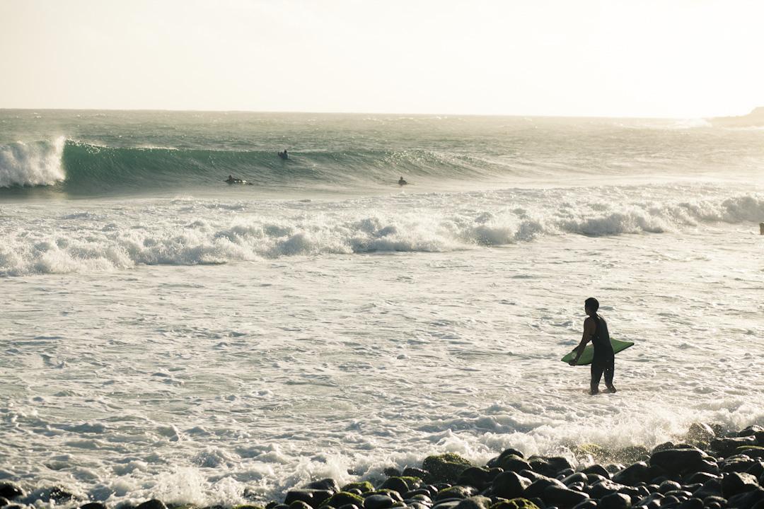 Hardcore boogie boarders, Hawai'i.