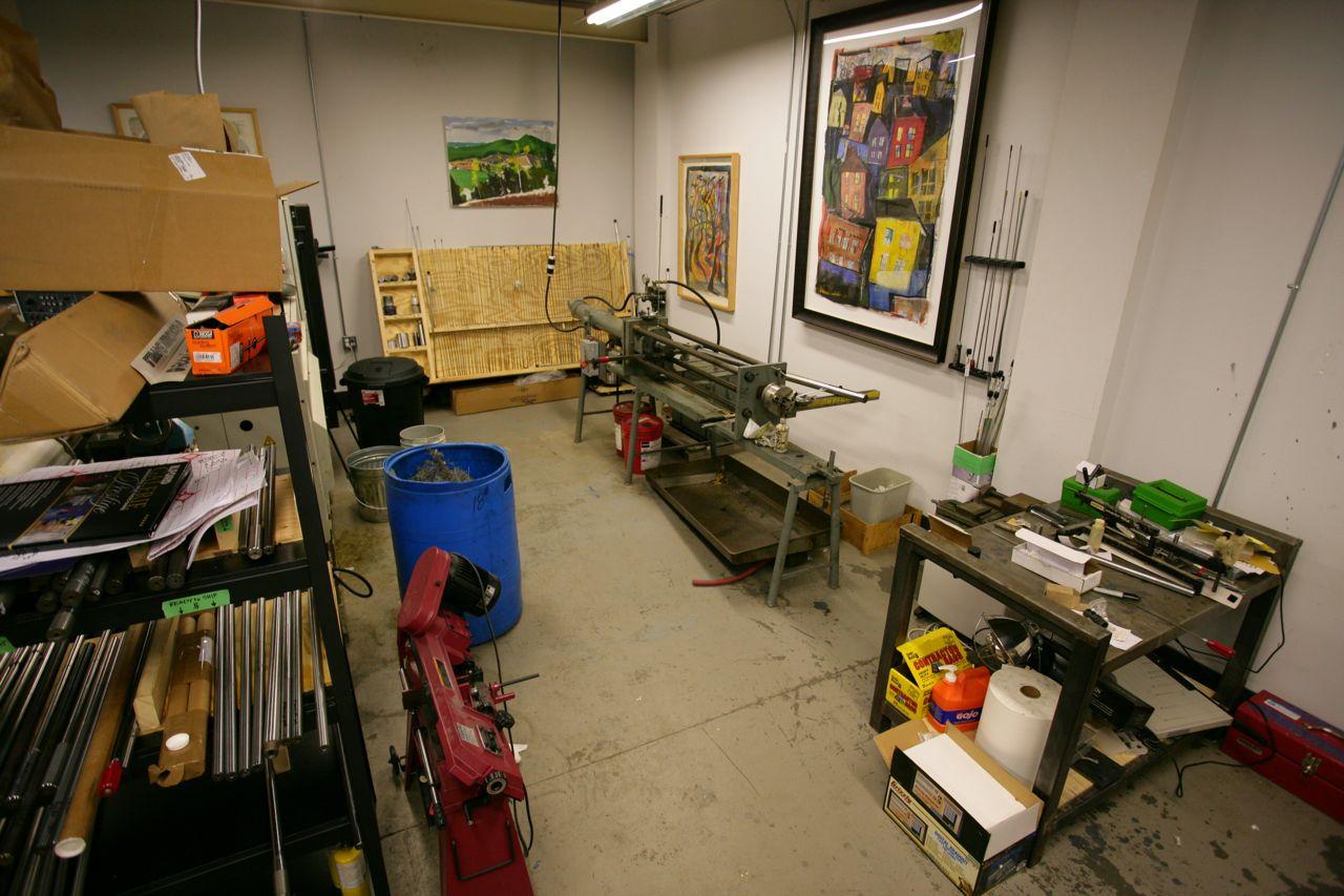 The MullerWorks Shop.