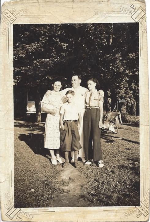 Pasquale, Angela, Rose and Dominic Bottari