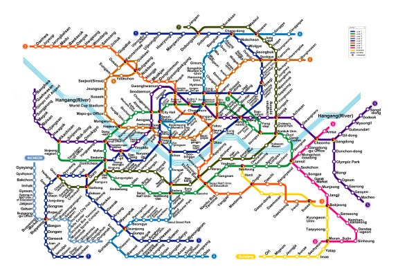 Metro maps of the world