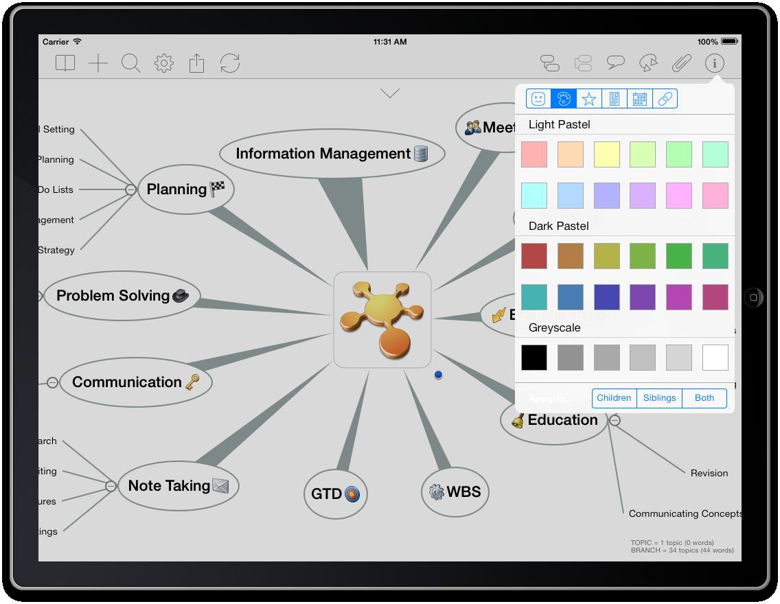 iPad Color Picker