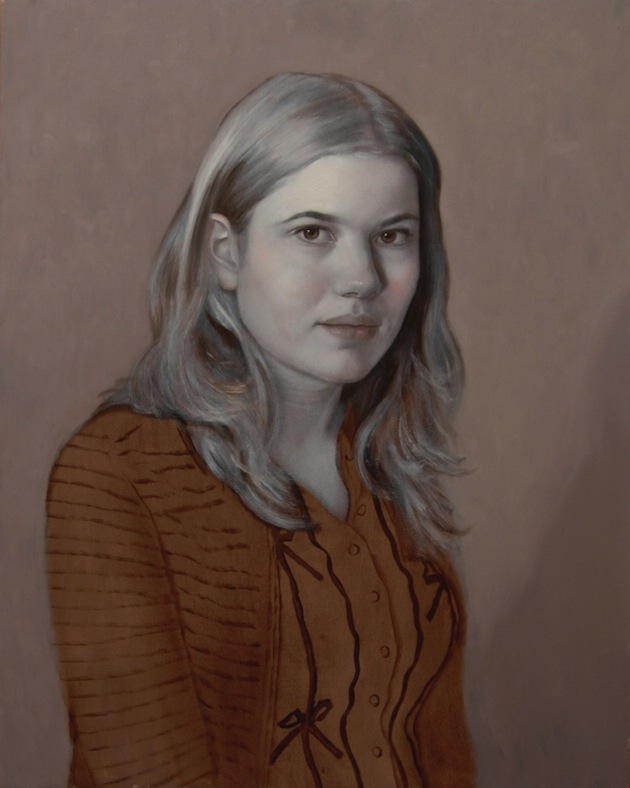 Scott Bartner, 'Julia' - Underpainting