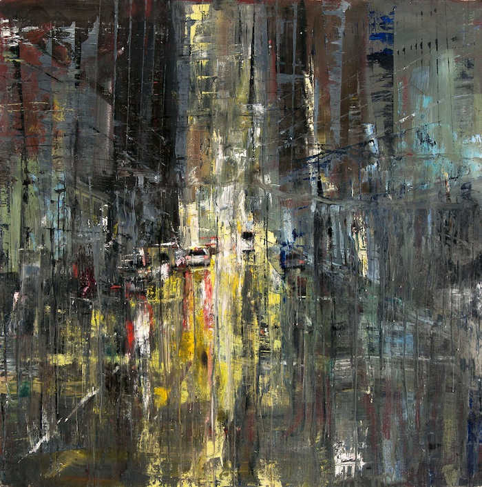 Gregory Prestegord, 'Untitled', 47 x 47, Oil on Panel, 2013.