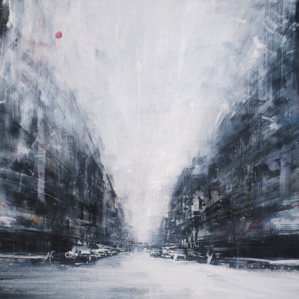 Daniele Cestari, 'White Light', 30 x 30, Oil on Linen.