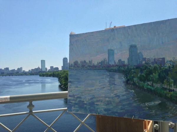 Boston from the BU Bridge