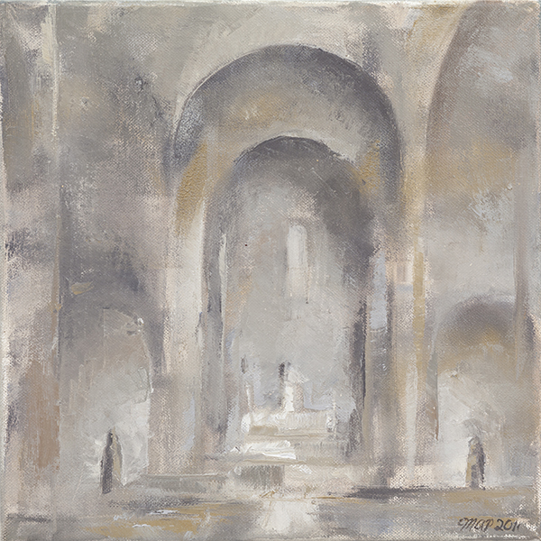 Michelle Arnold Paine, 'Mystery: St. Marys II', 12 x 12, Oil on Canvas, $900.
