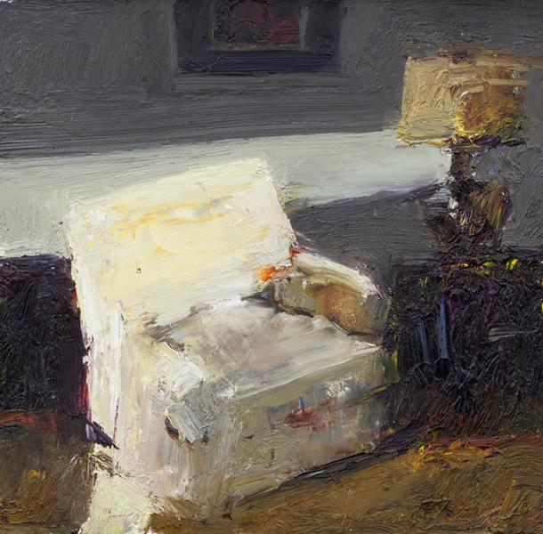 'Still Life', 7 x 7, Oil on Panel, SOLD