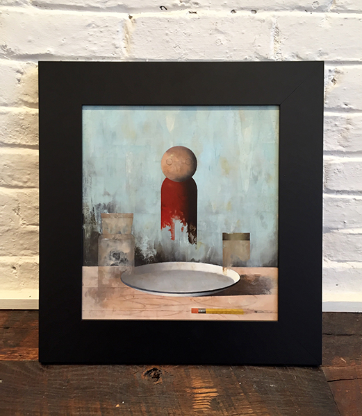 'Little Apparition' Framed