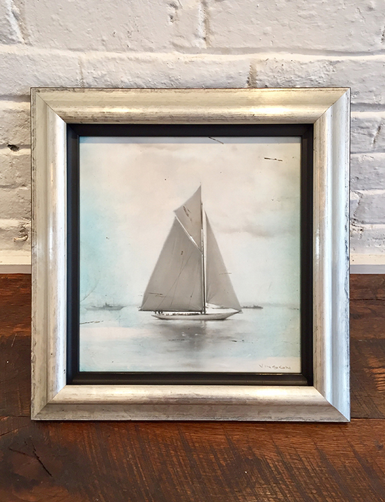 'Sea Smoke' Framed, SOLD