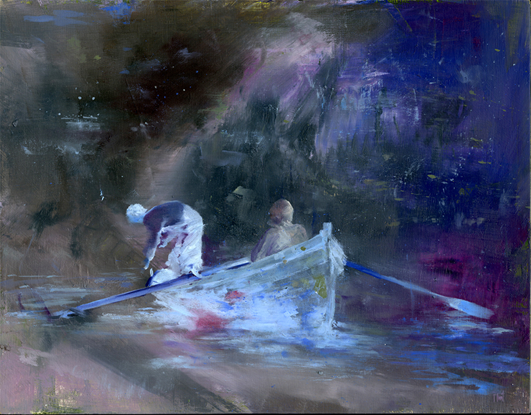 'Underwater Islands', 11 x 14, Oil on Panel, SOLD