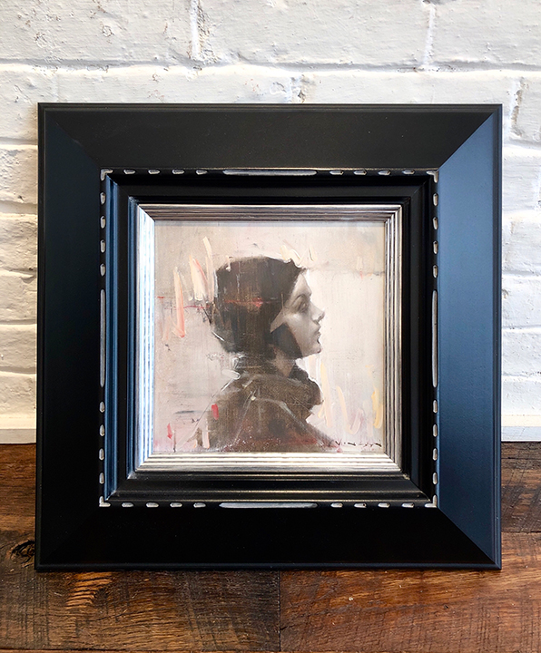 'The Only One' Framed, SOLD