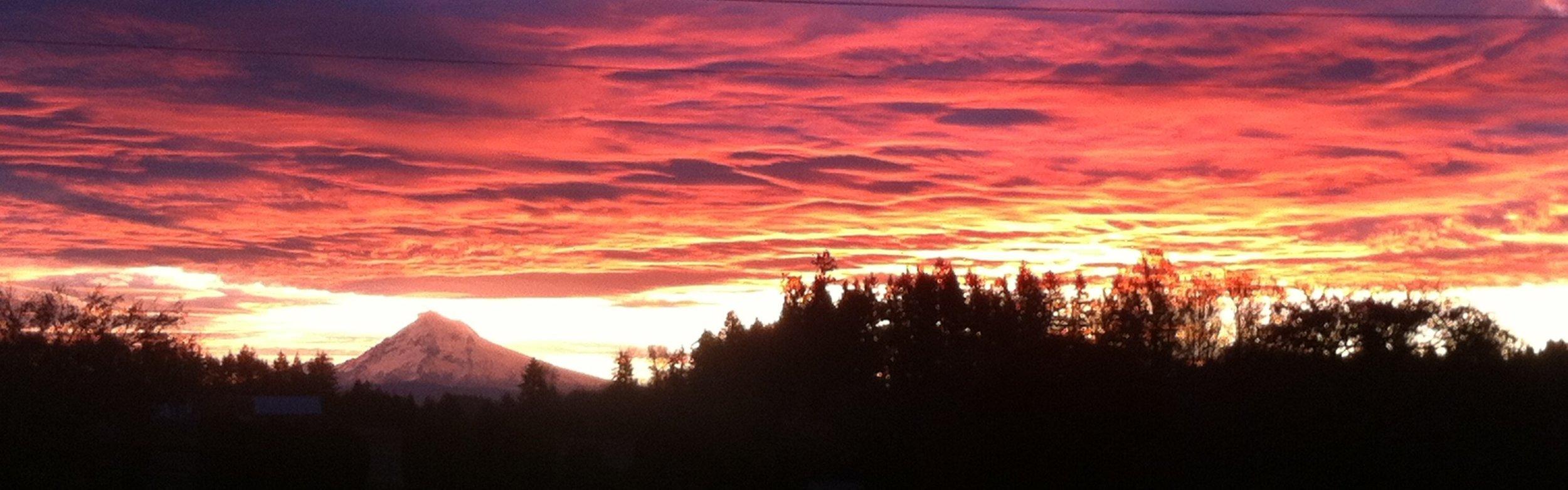 Sunrise Nov 2016